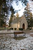 Old Church. A Old Church in a grave yard Royalty Free Stock Photography