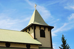 Old church. An old church in small town cranbrook, british columbia, canada Stock Photo