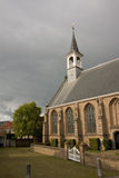 Old church. Small old church in Schipluiden - small town near the Delft (the Netherlands). Autumn Stock Photography