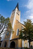 Old church. In Bad Hofgastein Royalty Free Stock Photos