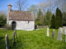 Old church. An old rural and quaint church and graveyard stock image