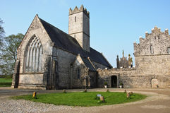 Old church abbey in the west of ireland Stock Image