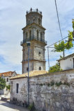 Old Church Agios Nikolaos in Koiliomenos village, Zakynthos, Ionian islands, Greece royalty free stock image