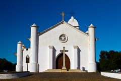 Old church on the Alentejo region Royalty Free Stock Image