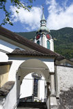 Old church at Altdorf in the Canton of Uri Stock Images