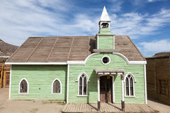 Old church in american town Royalty Free Stock Photos