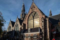 Old church, Amsterdam Royalty Free Stock Image