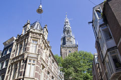 Old Church of Amsterdam Royalty Free Stock Image