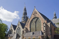 Old Church of Amsterdam Royalty Free Stock Images