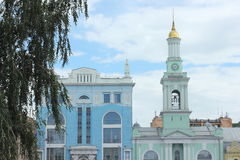 Free Old Church And Bell Tower Stock Image - 56566641