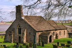Free Old Church And Graveyard Royalty Free Stock Image - 14381916