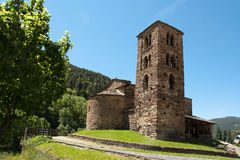 Old church in Andorra royalty free stock images