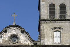 Old church in Baroque style Stock Photo