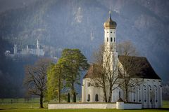 Old church in Bavaria, Germany. Old church in Bavaria. Germany Royalty Free Stock Photography
