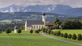 Old church in Bavaria, Germany. Old church in Bavaria. Germany Stock Photo
