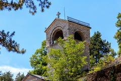 Old Church. Old beautiful Church in Montenegro Stock Photo