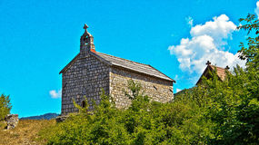 Old Church. Old beautiful Church in Montenegro Stock Photography