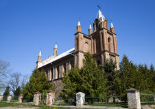 Old church.  Belarus. Stock Image