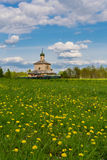 The old church in Belarus Stock Photos