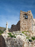 Church in the rock in Mijas in Spain Stock Image