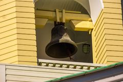 Old church bell royalty free stock photography