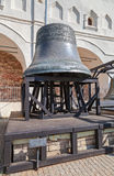 Old church bell of St. Sophia Cathedral in Novgorod kremlin, Rus Stock Photo
