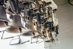 Old Church bell tower. Choir of bells Royalty Free Stock Photo