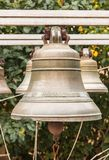 Old Church bell. Yaroslavl. Russian Federation. 2017. Old Church bell. Yaroslavl. Russian Federation. Bell established on the monastery grounds for review by royalty free stock images