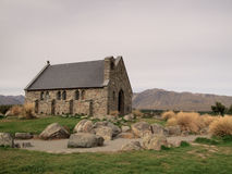 Old church besides Lake Tekapo Stock Photo