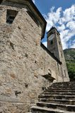 Old church in Biasca Stock Photos