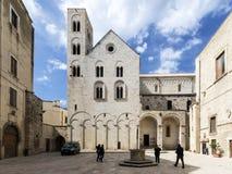 Old church in Bitonto Italy Stock Image