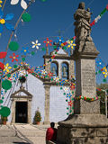 Old church on Braga,Portugal Royalty Free Stock Images