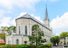 Old church building in neoclassical style Royalty Free Stock Image