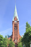 Old church in Bydgoszcz. Poland. Royalty Free Stock Image
