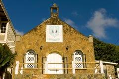An old church in the caribbean Stock Photo