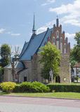 Old church in Cchow, Poland Royalty Free Stock Image