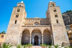 Old church cefalù, Sicily Italy Royalty Free Stock Photos