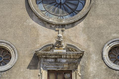 Old church cefalù - Sicily - Italy Royalty Free Stock Images
