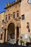 Old church in Cefalu, Sicilia, Italy Royalty Free Stock Image