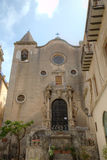 Old church in Cefalu, Sicilia, Italy Stock Photography