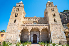 Old church cefalu - Sicily Stock Photo
