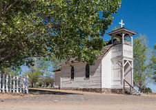 Old church and cemetery Royalty Free Stock Images
