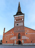The old church in the center of Vasteras city in Sweden Stock Photo