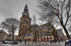 Old Church Amsterdam Stock Photos