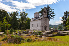 Old church in Cetinje, Montenegro Royalty Free Stock Images