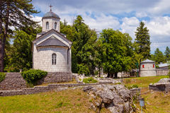 Old church in Cetinje, Montenegro Stock Photos