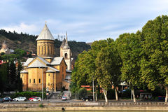 Old church in the city centre of Tbilisi Stock Image