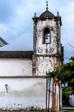 Old church in the colonial town of Paraty, Brazil Royalty Free Stock Photography