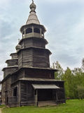 Old church complex. Structures made of wood Stock Photo