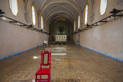 Old church converted to Art gallery Stock Photo